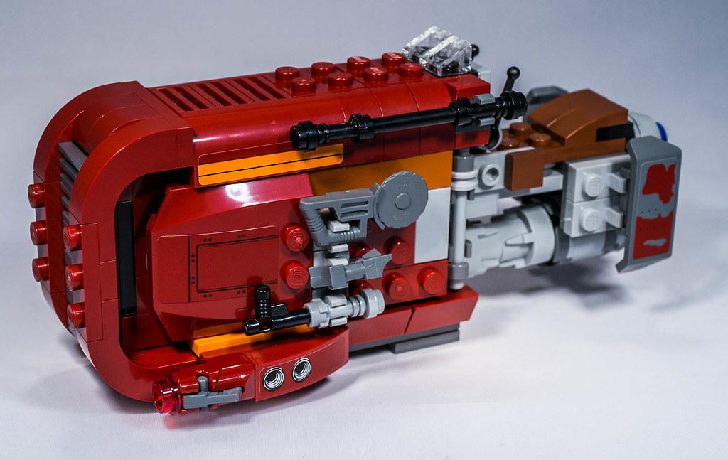 Lego 75099 Reys Speeder Star Wars 7 Lego 75099 Reys Flickr