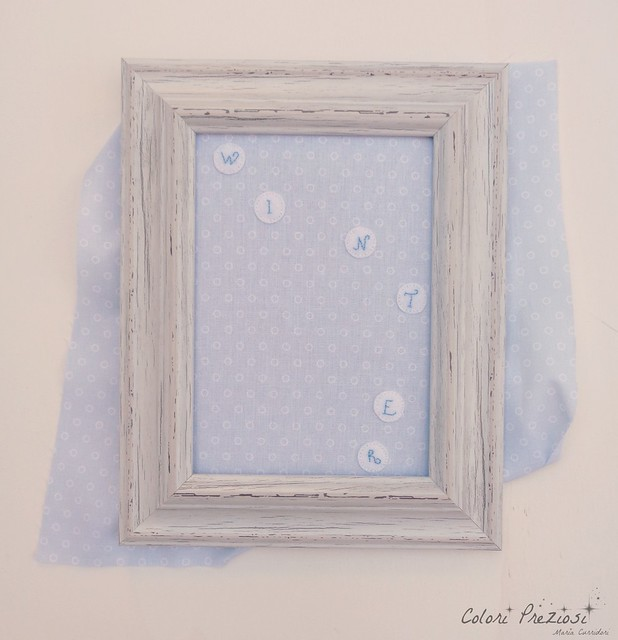 TUTORIAL - WINTER FELT FRAME
