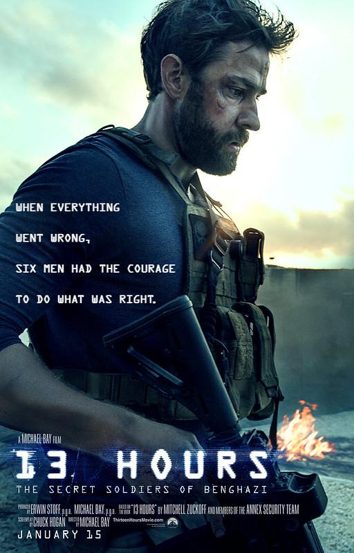 13 Hours Teaser Poster