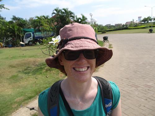Vientiane: balade dans le parc