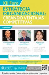 Afiche_X Foro Estrategia Organizacional