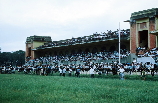 SAIGON 1969 - Photo by larsdh - Trường đua Phú Thọ