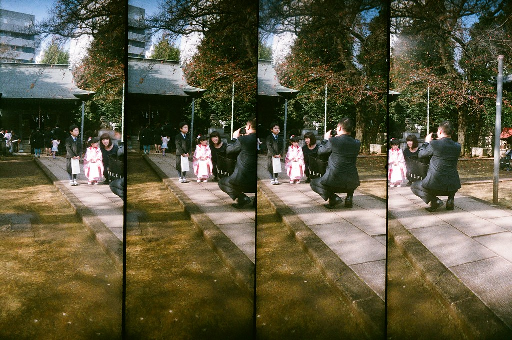 光丘 Tokyo, Japan / FUJICOLOR 業務用 / SuperSampler 七五三節,家家戶戶都把小朋友帶到神社祈福。  SuperSampler Dalek FUJICOLOR 業務用 ISO400 7411-0027 2016/11/20 Photo by Toomore