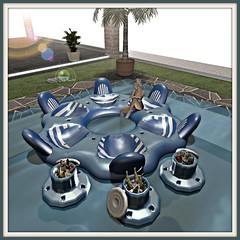 Aphrodite Pool party & drinks floats