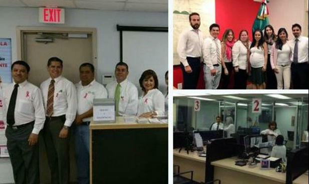 Paro laboral de trabajadores en consulados de México en EU