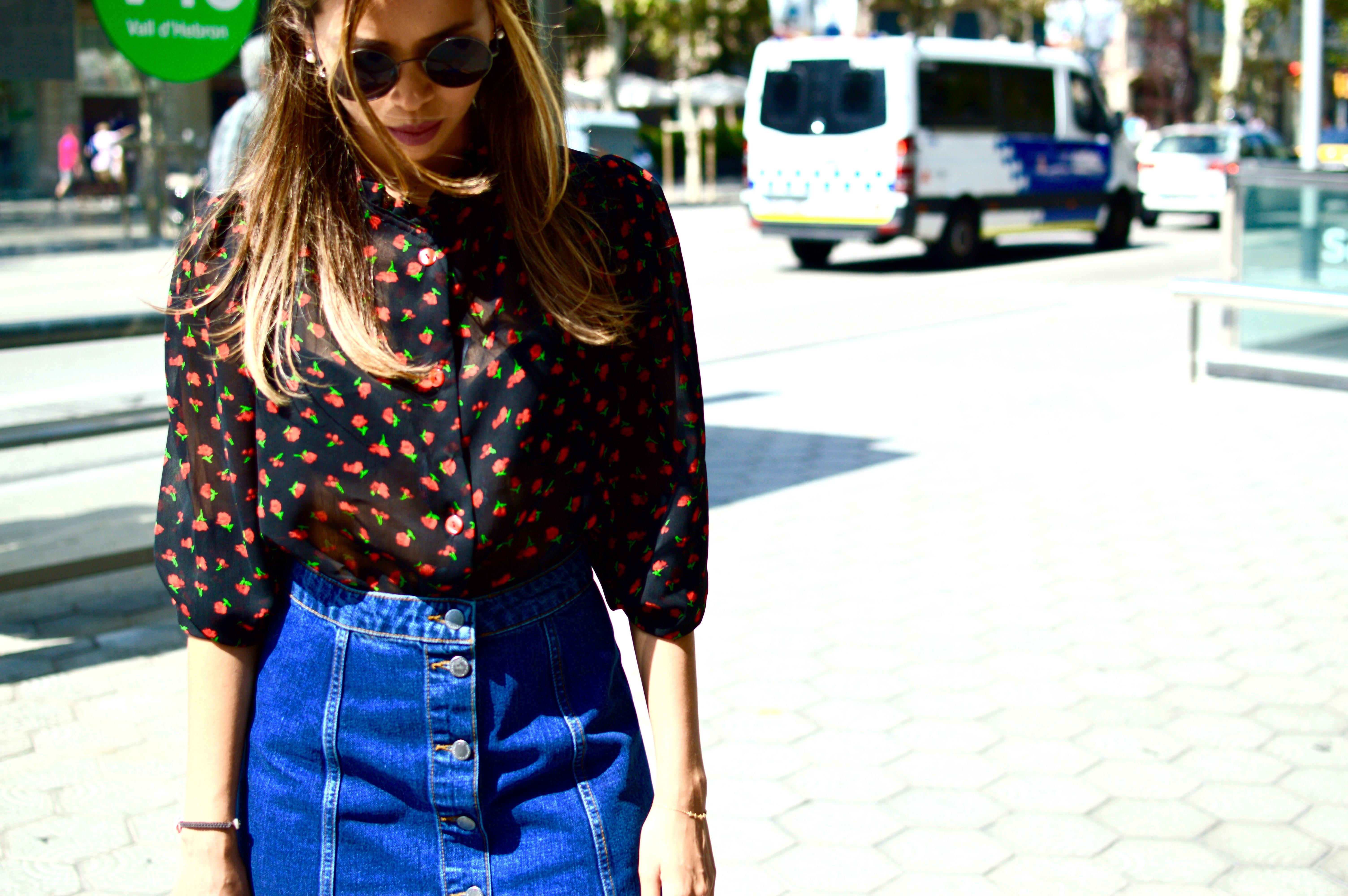 70's skirt