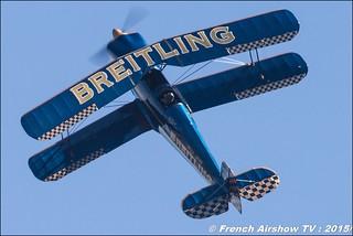 Bücker Bü-131 Jungmann - F-AZVK, Bücker Breitling , F-AZVK , WAC 2015 Chateauroux, 28th FAI World Aerobatic Championships Châteauroux 2015 , Championnats du Monde de Voltige Aerienne 2015, Meeting Aerien 2015