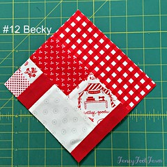 #12 Becky red
