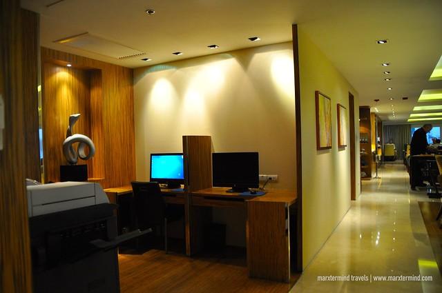 Executive Lounge at Manila Marriott Hotel
