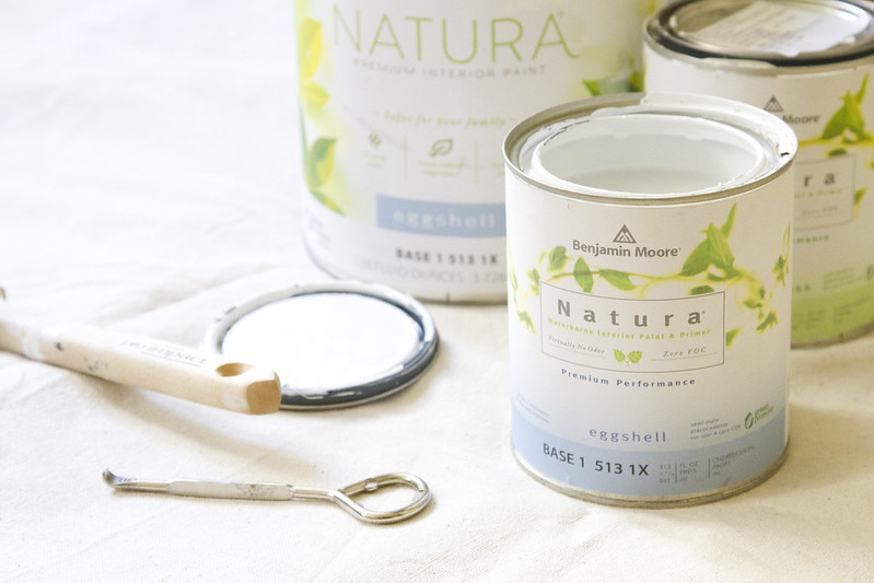 benjamin moore natura closet redux | reading my tea leaves