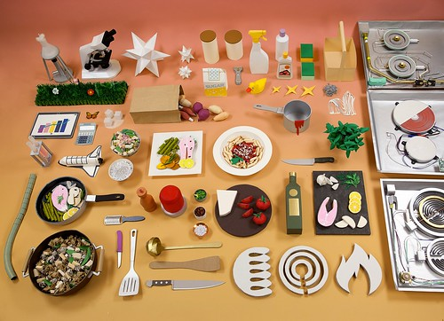 Paper Models for Schott Ceran Campaign by Ollanski and Cris