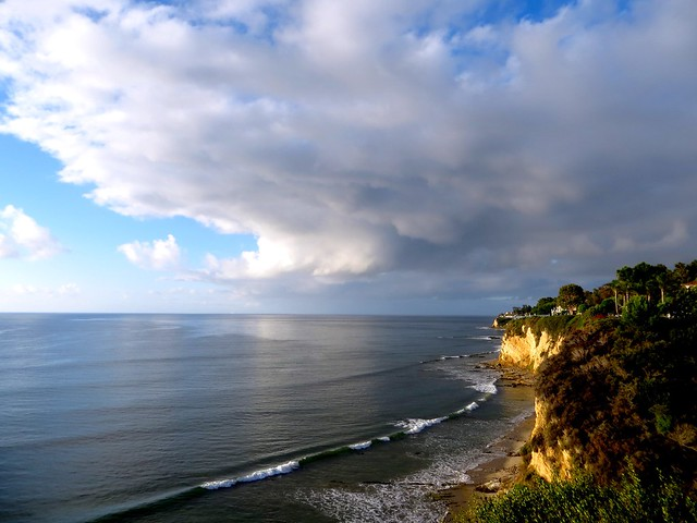 paradise cove after the rain