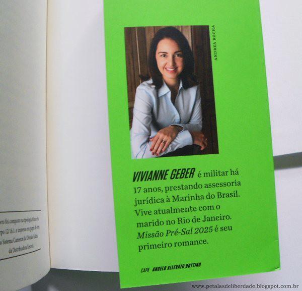 Resenha, livro, Missão Pré-Sal 2025, Vivianne Geber, forças armadas, marinha