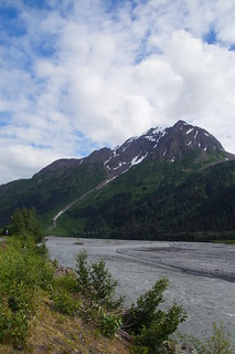074 Rivier bij Windsong Lodge Seward