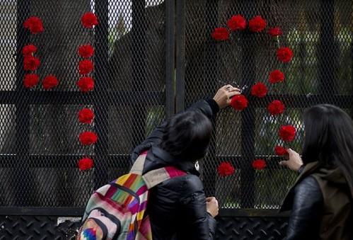 Hija de Evo Morales organiza marcha por los 43