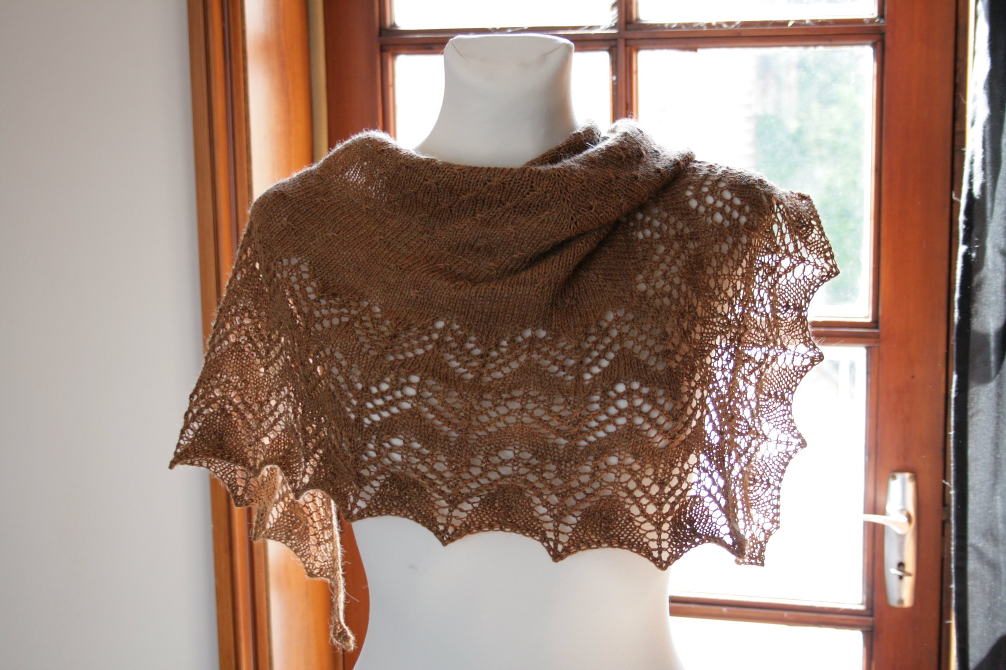 Swedish Spring Shawl