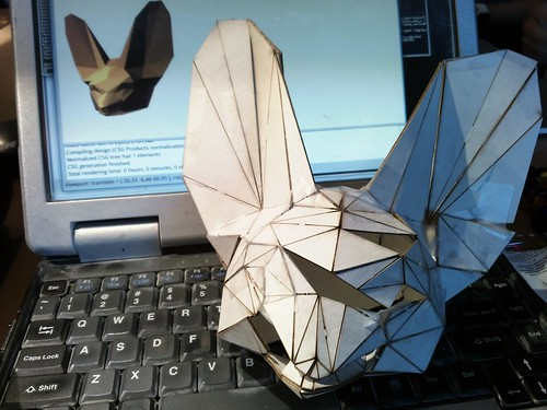 Papercraft Fennec Fox