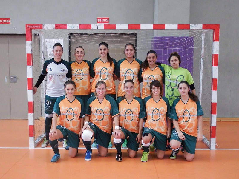 Fútbol sala femenino CADU 2015