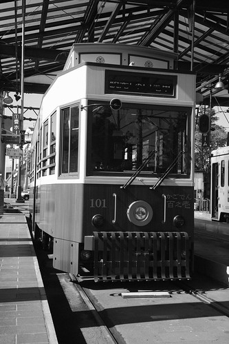 Tramcars at Kagoshima on OCT 24, 2015 (13)