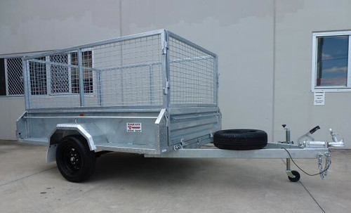 The heavy duty Tradies Box Trailer is the latest product from Trailer Guys