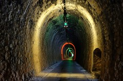 Bez, ancien tunnel ferroviaire - Photo of Avèze