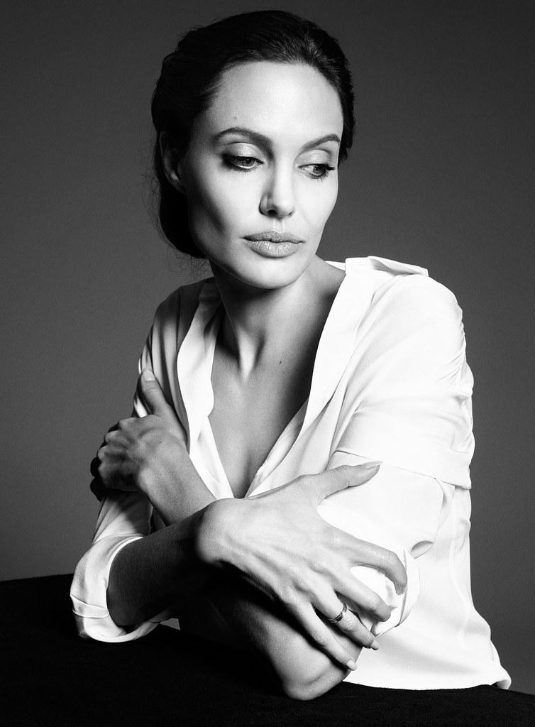 Анджелина Джоли — Фотосессия для «Time» 2014 – 2