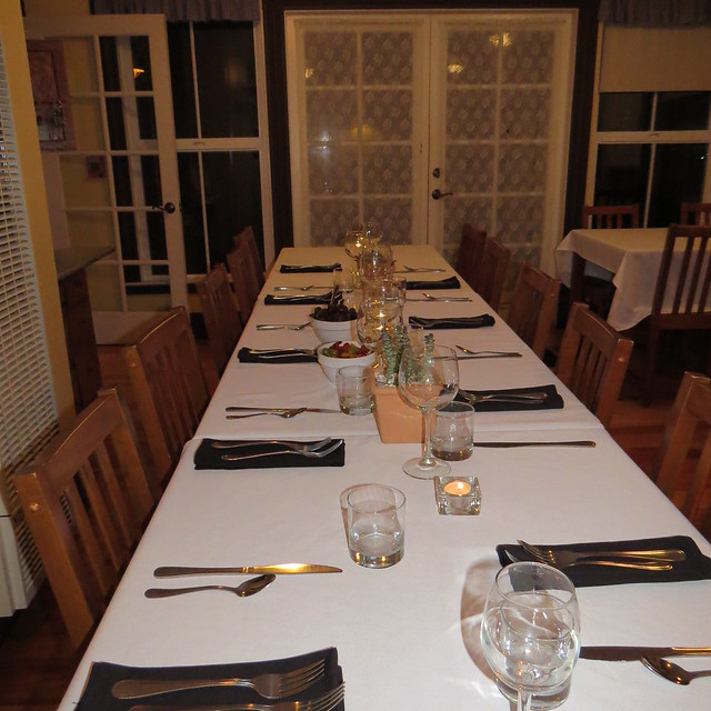 Saturday Dinner at Captain's Inn