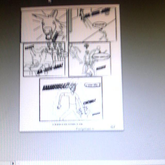 Continuando con el web comic