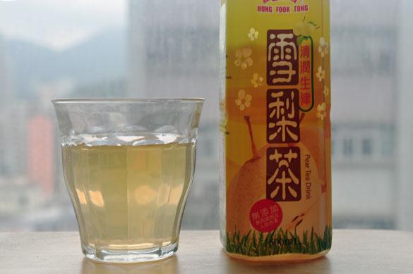 雪梨茶 - 香港で漢方飲料を飲み比べ