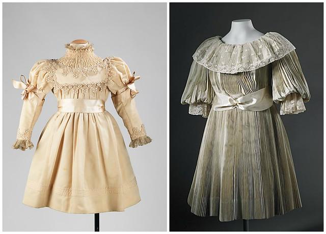 Robes pour petites filles, inspiration cortège de mariage