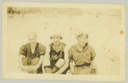 Three at the beach