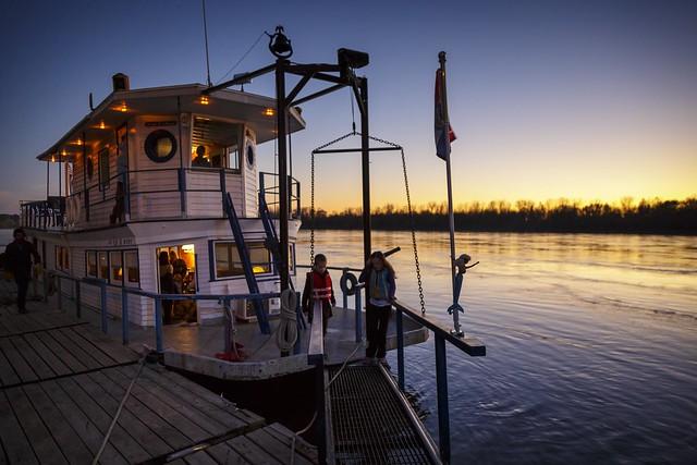 Paddle Boat Sunset II