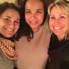 Amy, le me, and one of my fav aunties Jeannie! :purple_heart: