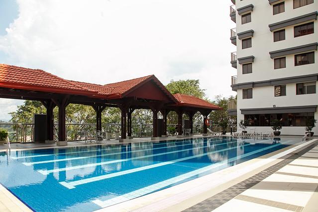 Croisette Cafe Swimming Pool Cascadium Condo