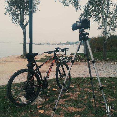 stilllife bike square scenery tripod gear greece backdrop gr filmmaking kalamaria makedoniathraki