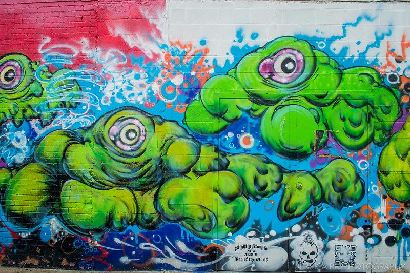 Dallas Deep Ellum Graffiti