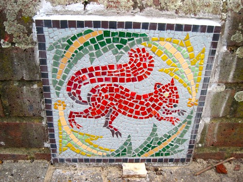 Mosaics in Hackney Downs