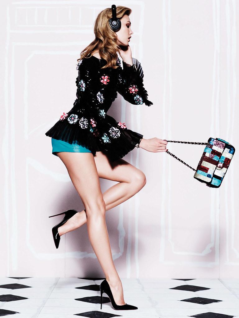 Карли Клосс — Фотосессия для «Vogue» MX 2015 – 7