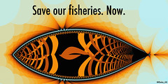 Sustainability poster - Save our fisheries