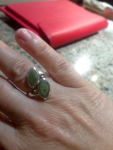My Irish marble ring