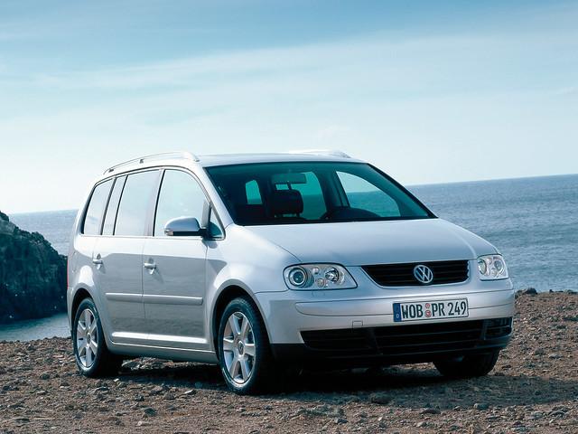 Компактвэн Volkswagen Touran. 2003 – 2006 годы