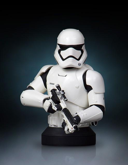 Gentle Giant – 星際大戰系列【帝國暴風兵】First Order Stormtrooper 1/6 比例 半身胸像