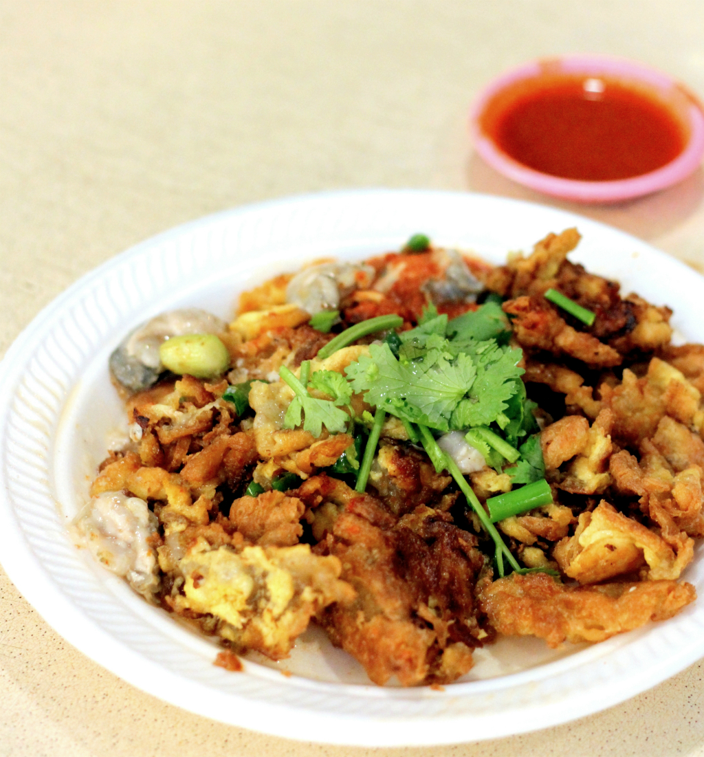Downtown Line 2 Food: Newton Food Centre Hup Kee Oyster Omelette