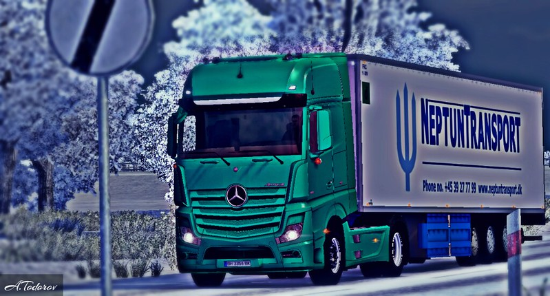 Mercedes Actros MP4 ETS2
