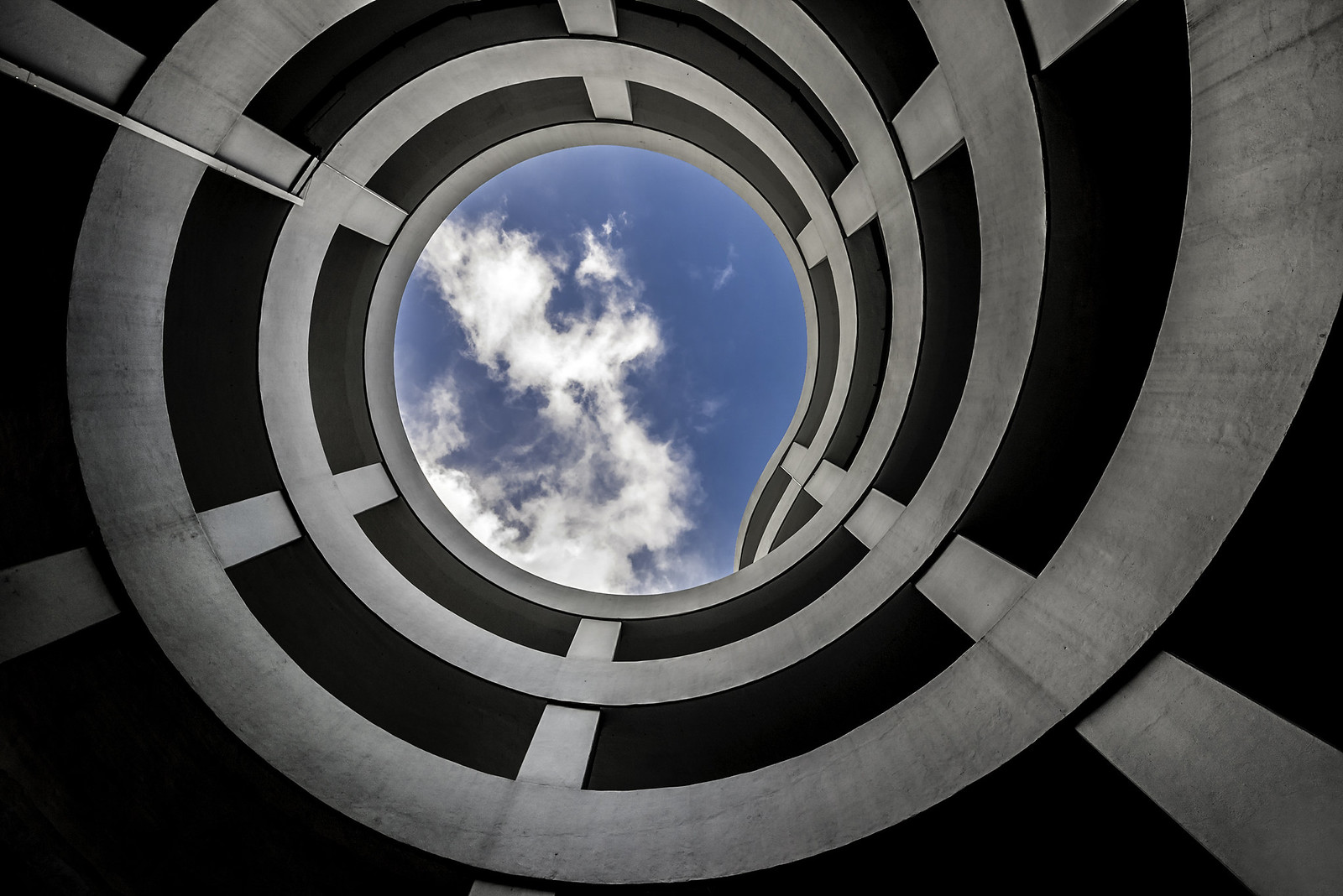Spiral to the sky by Carsten Heyer