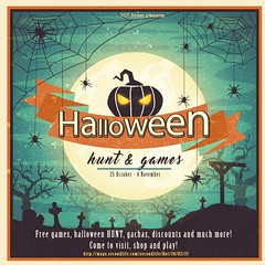 Halloween Hunt and games