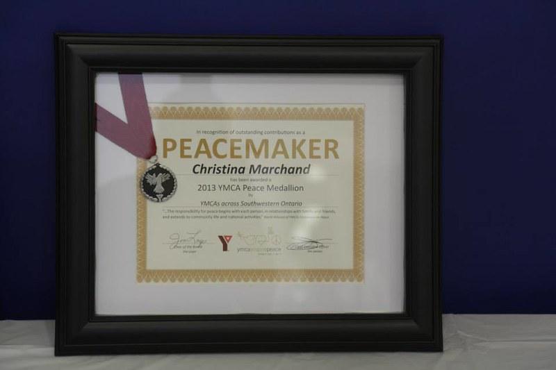 YMCA Peace Medallion