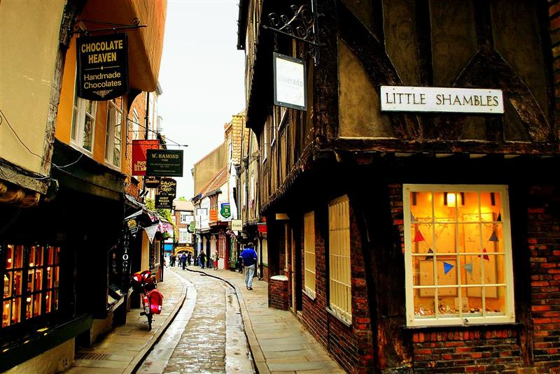 Little Shambles, York. Credit Craig Jamieson