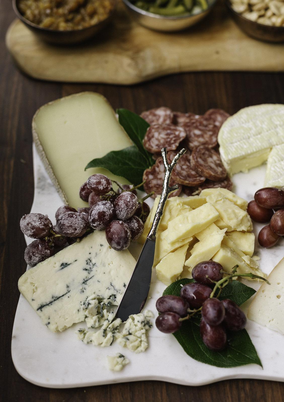 Cheese board + accompaniments #sponsored