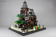MOC - haunted house